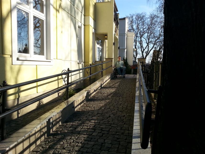 Hotel Antonina Sopot podjazd