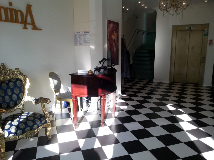 Hotel Antonina Sopot recepcja