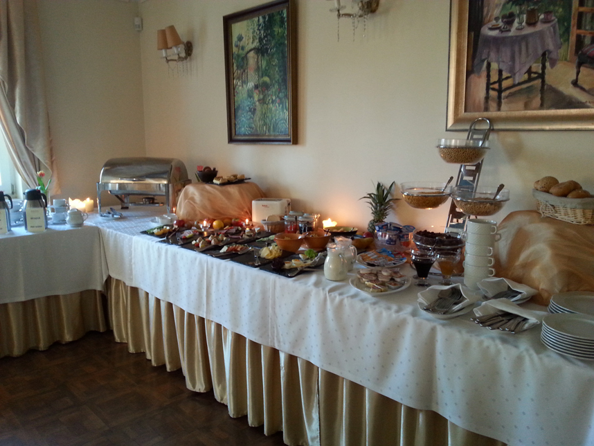 Hotel Antonina Sopot śniadanie