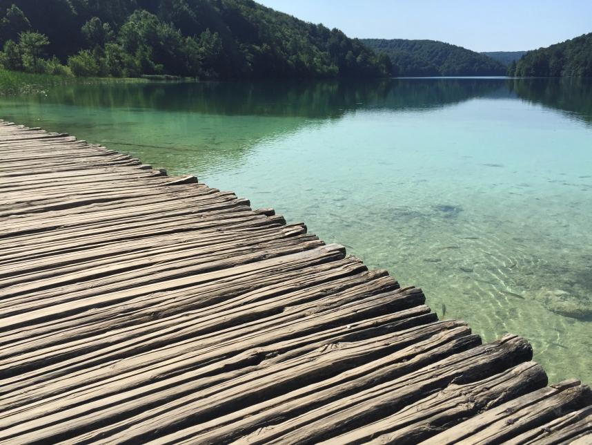proscansko jezero widok
