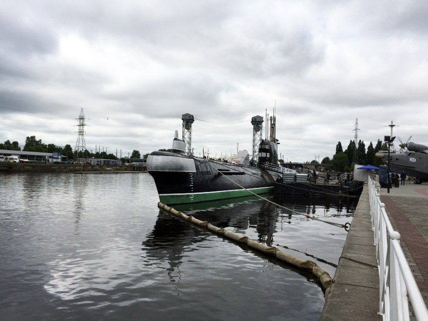łódź podwodna Kaliningrad