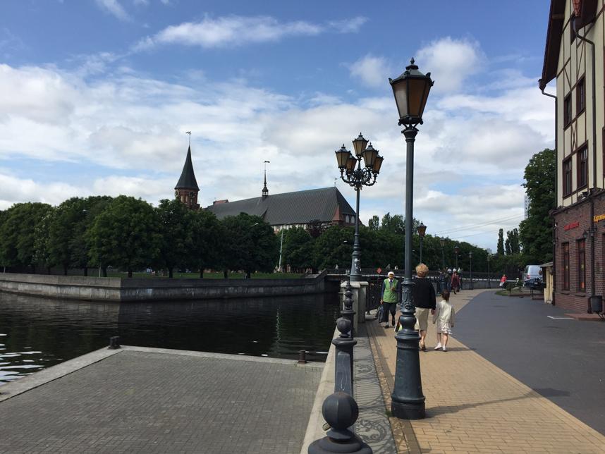 bulwar Kaliningrad