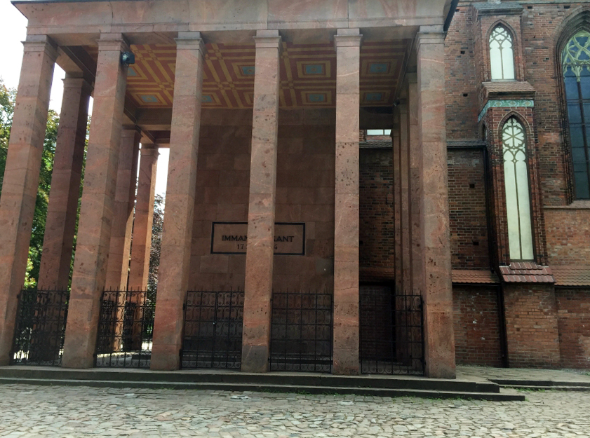 mauzoleum Immanuela Kanta w Kaliningradzie