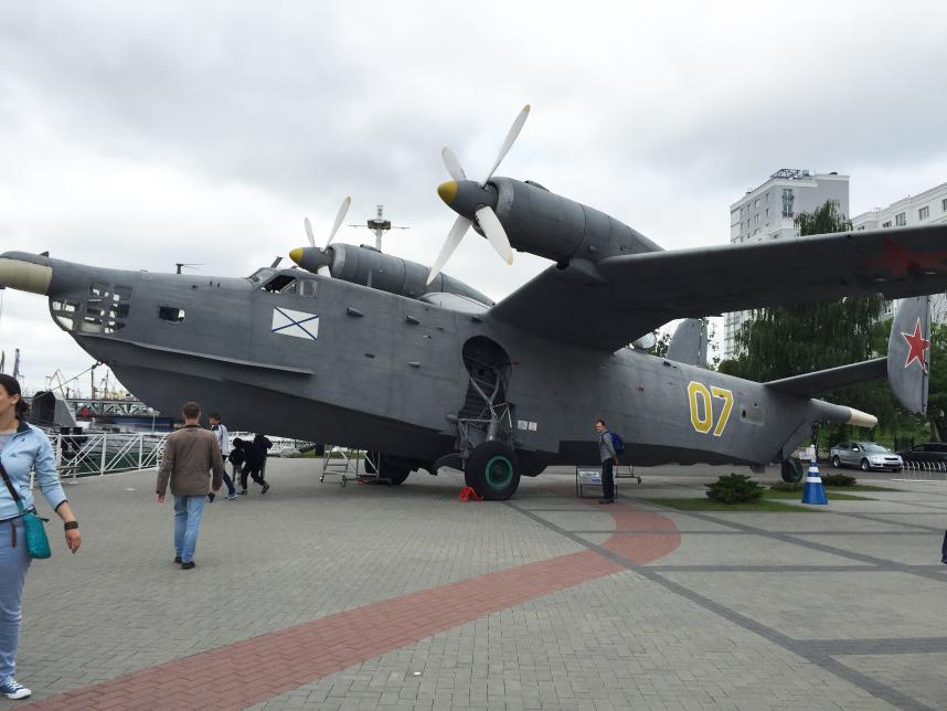 samolot statek Kaliningrad