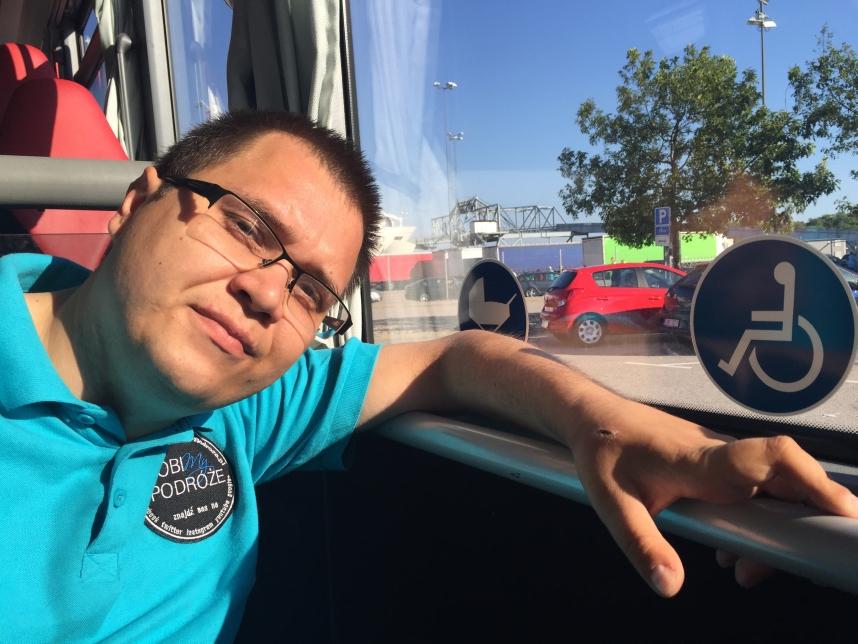 Karlskrona autobus dla osoby niepełnosprawnej