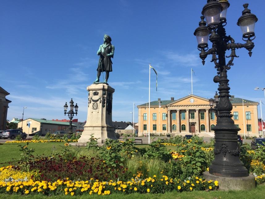 Karlskrona pomnik Karola XI