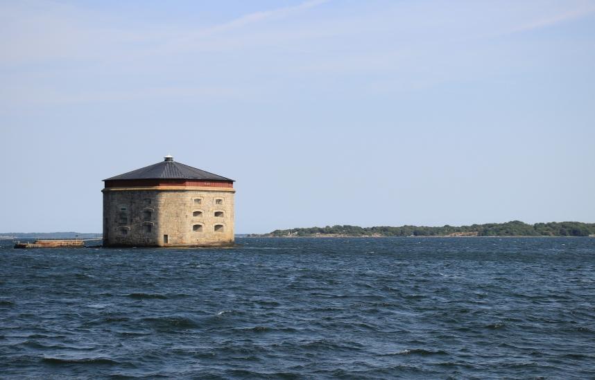 Karlskrona z morza