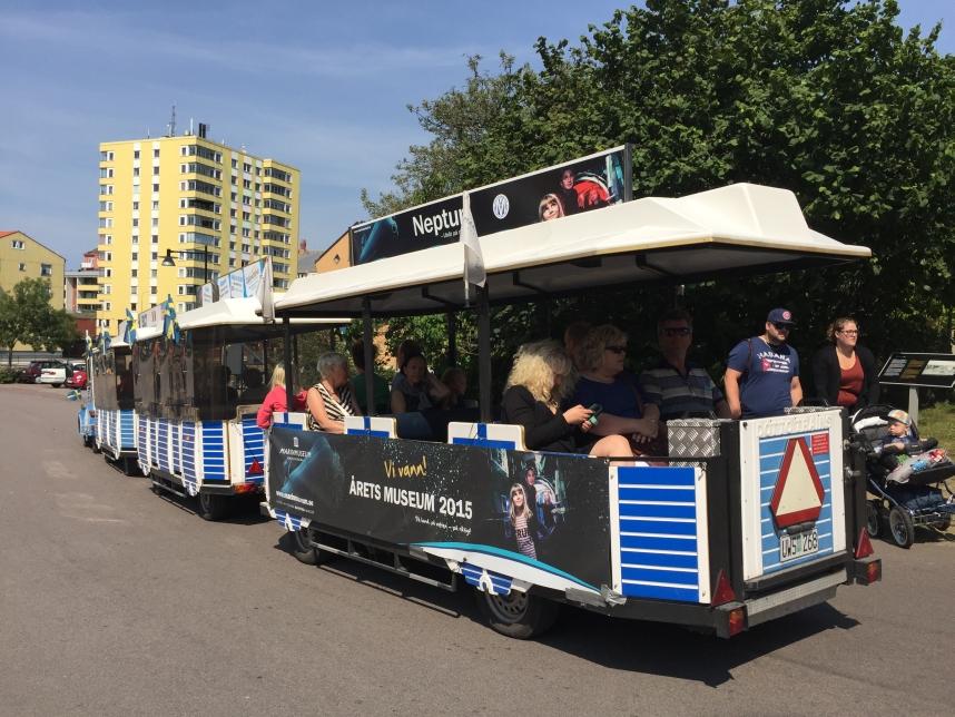 dostosowany piociąg w Karlskronie