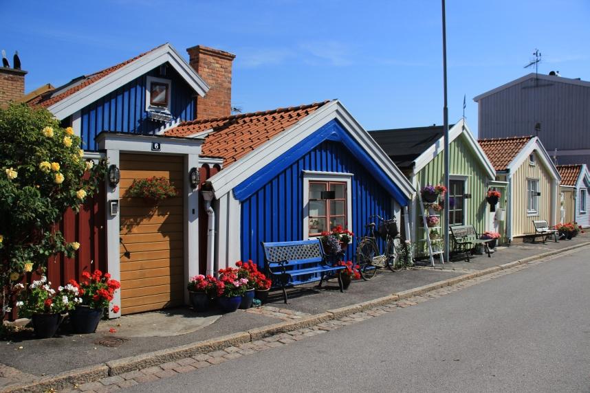 małe domki w Karlskronie