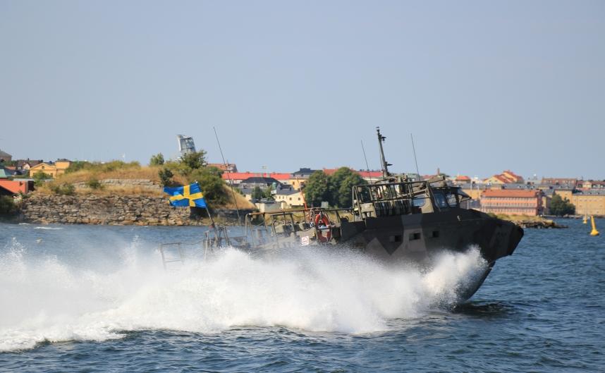 motorówka wojskowa Karlskrona