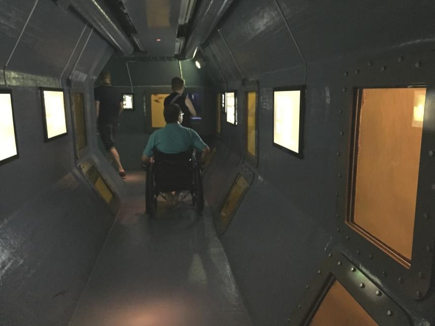 tunel podwodny Muzeum Morskie