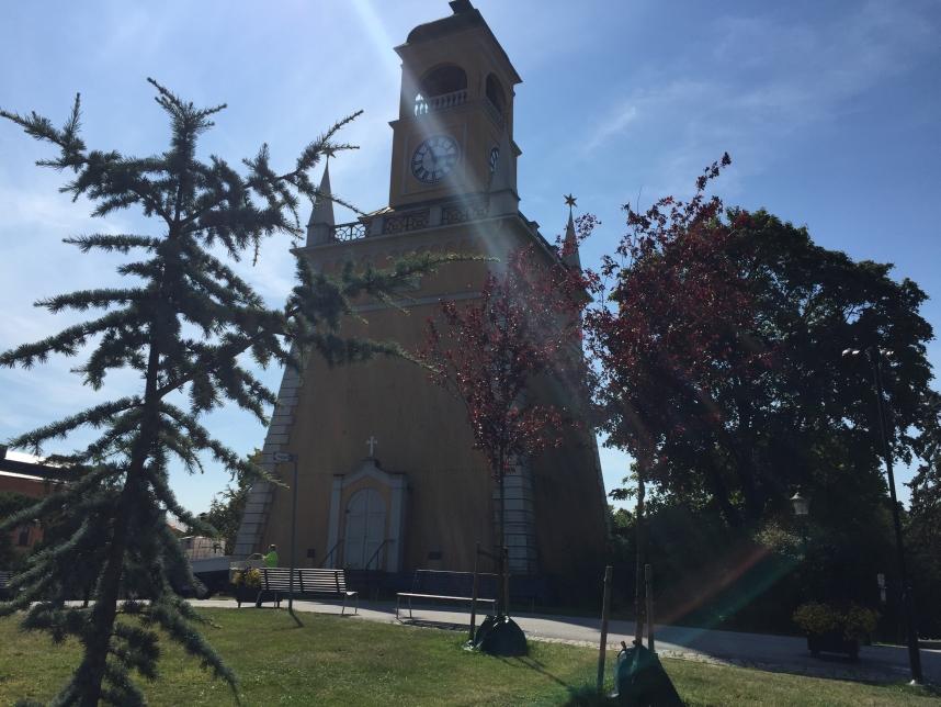wieża dzwonnicza Karlskrona