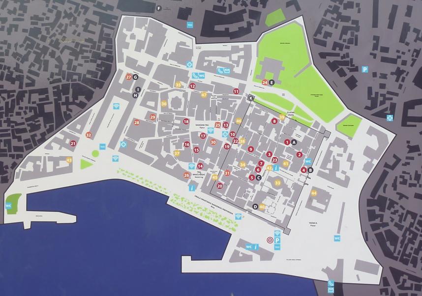 split mapa