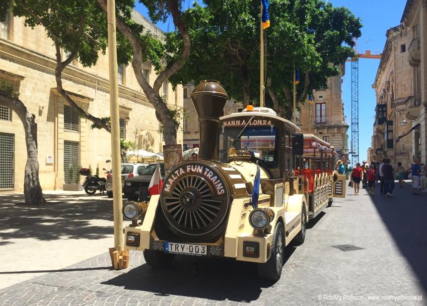 Malta fun trains
