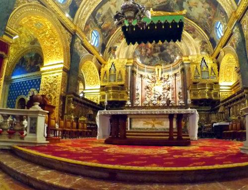 Malta zakochania warta – część czwarta – Konkatedra św. Jana w Valletcie