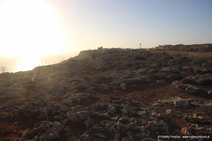 Dingli Cliffs-podłoże