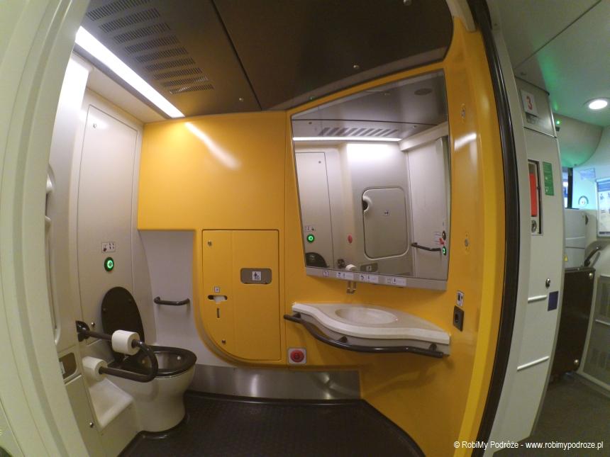 łazienka dla niepełnosprawnych wPendolino