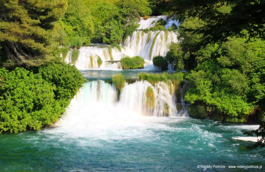 Park Narodowy Krka wodospad