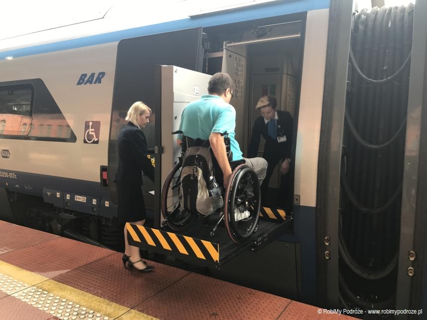 platforma dla osób niepełnosprawnych wPendolino