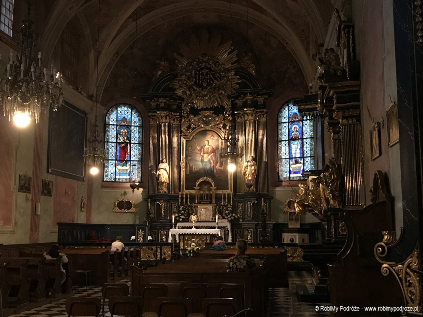 wnętrze Kościoła św. Barbary