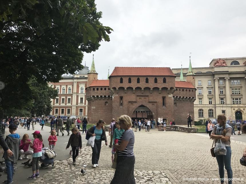 Barbakan Kraków