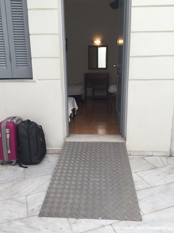 Hotel Rio Ateny - podjazd
