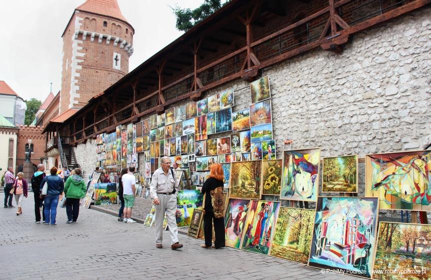 mury miejskie wKrakowie