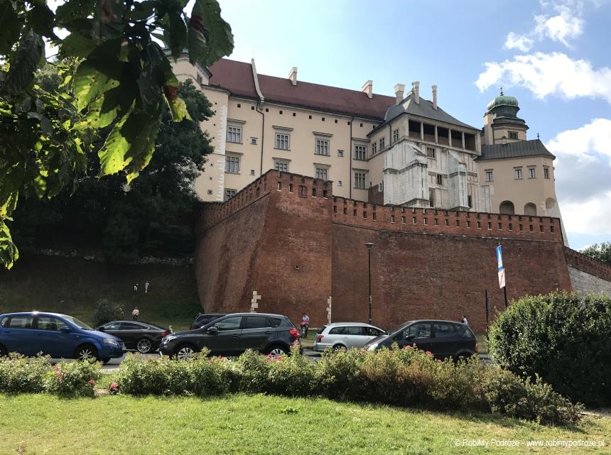 wzgórze wawelskie - koniec Drogi Królewskiej