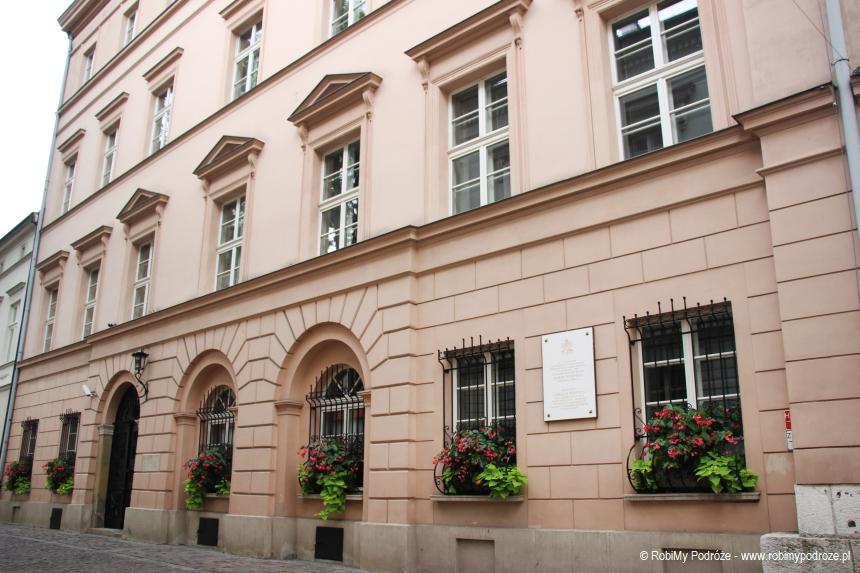 ciekawe miejsca Krakowa - tablica Karola Wojtyły