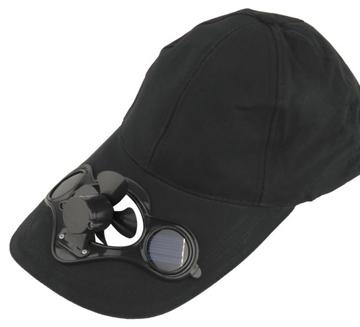 czapka z wentylatorem