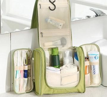 organizer na kosmetyki dla podróżniczki