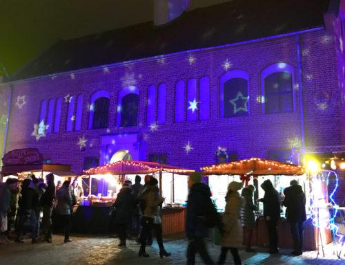 Jarmark świąteczny w Olsztynie magicznie rozświetla miasto