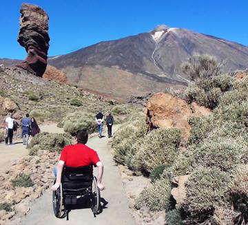 Teneryfa dla niepełnosprawnych - Roques de García