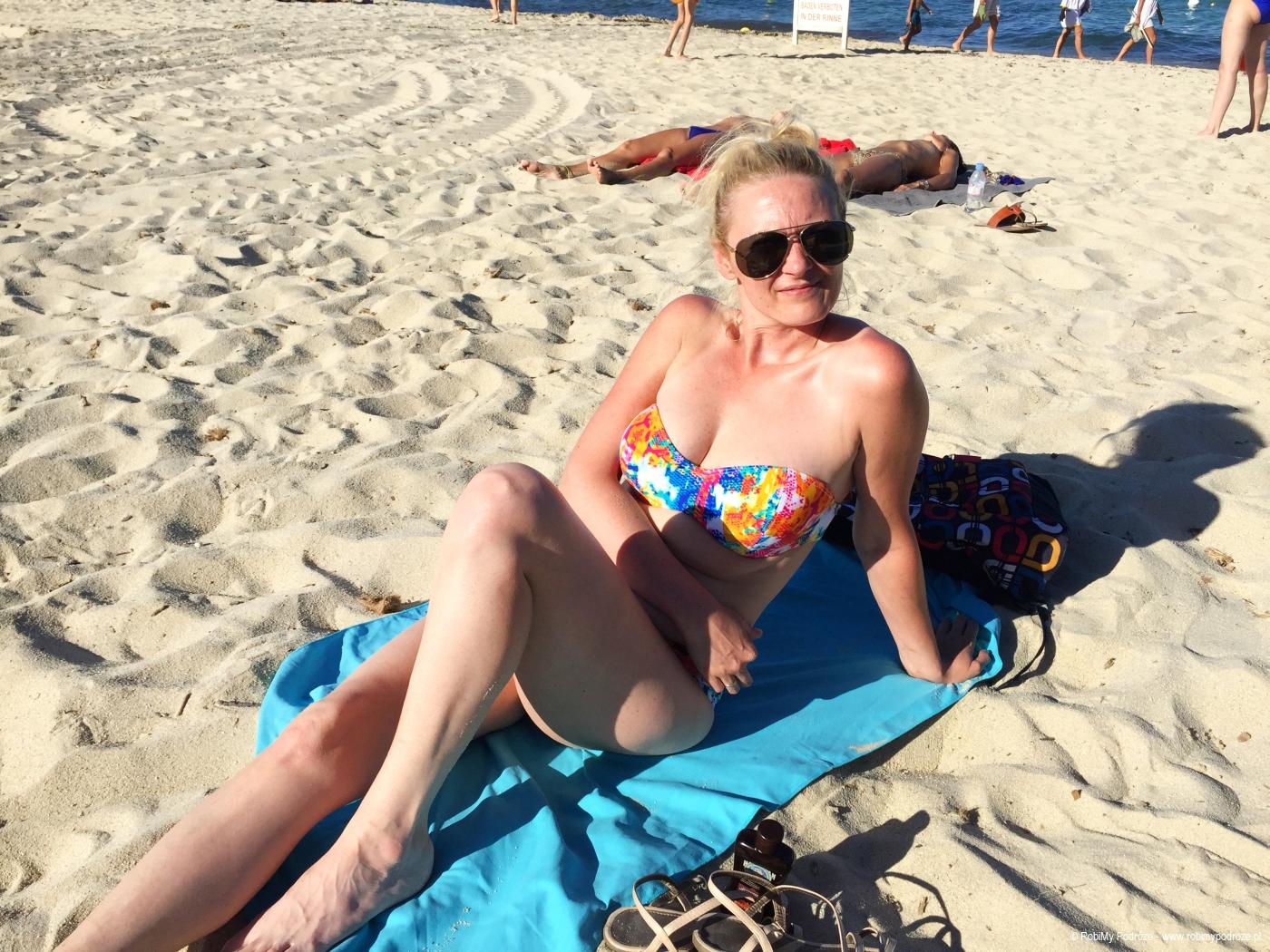 Goha na plaży Pampelonne