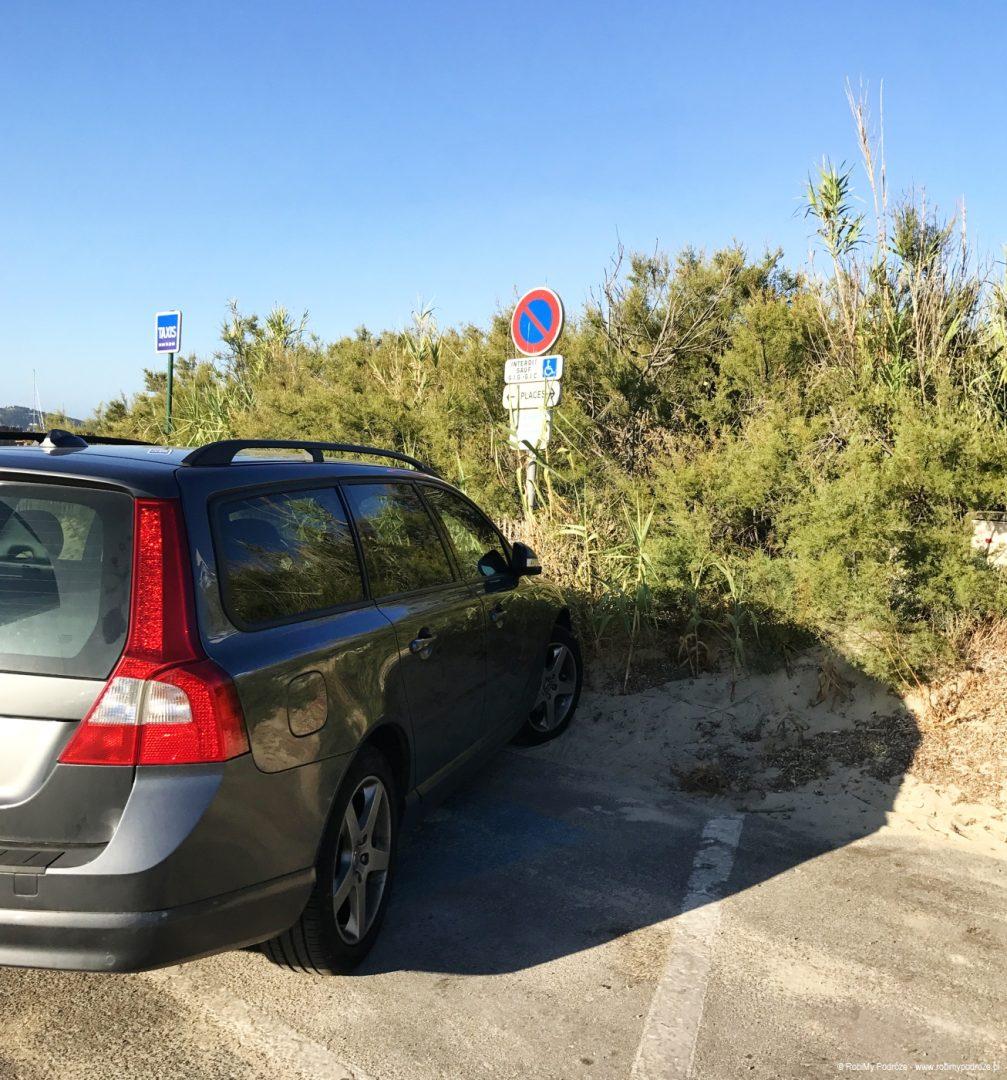 parking na Pampelonne