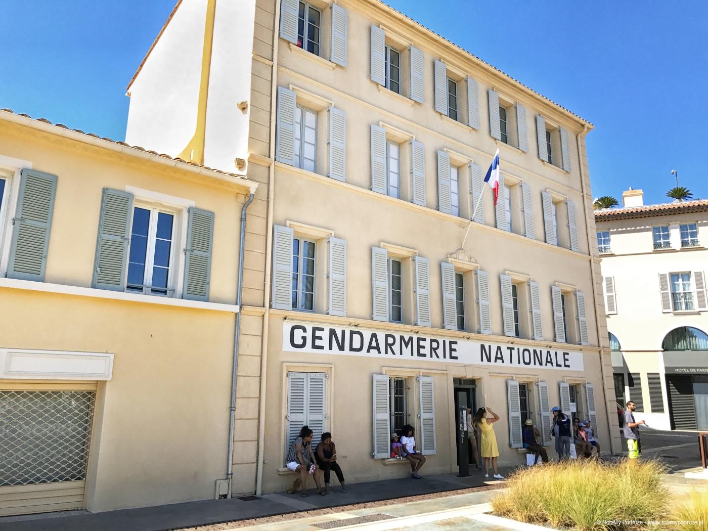 posterunek żandarma z Saint-Tropez
