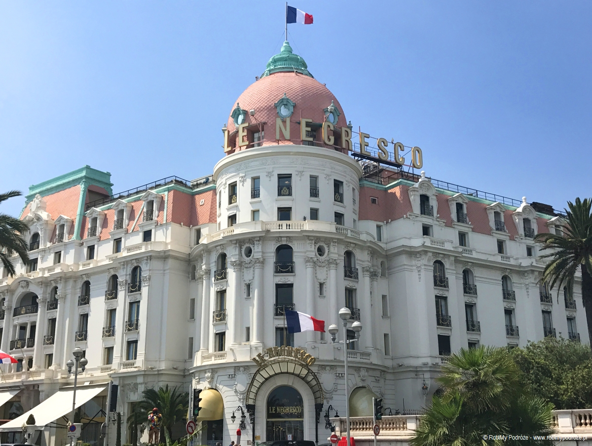 Hotel Le Negresco w Nicei