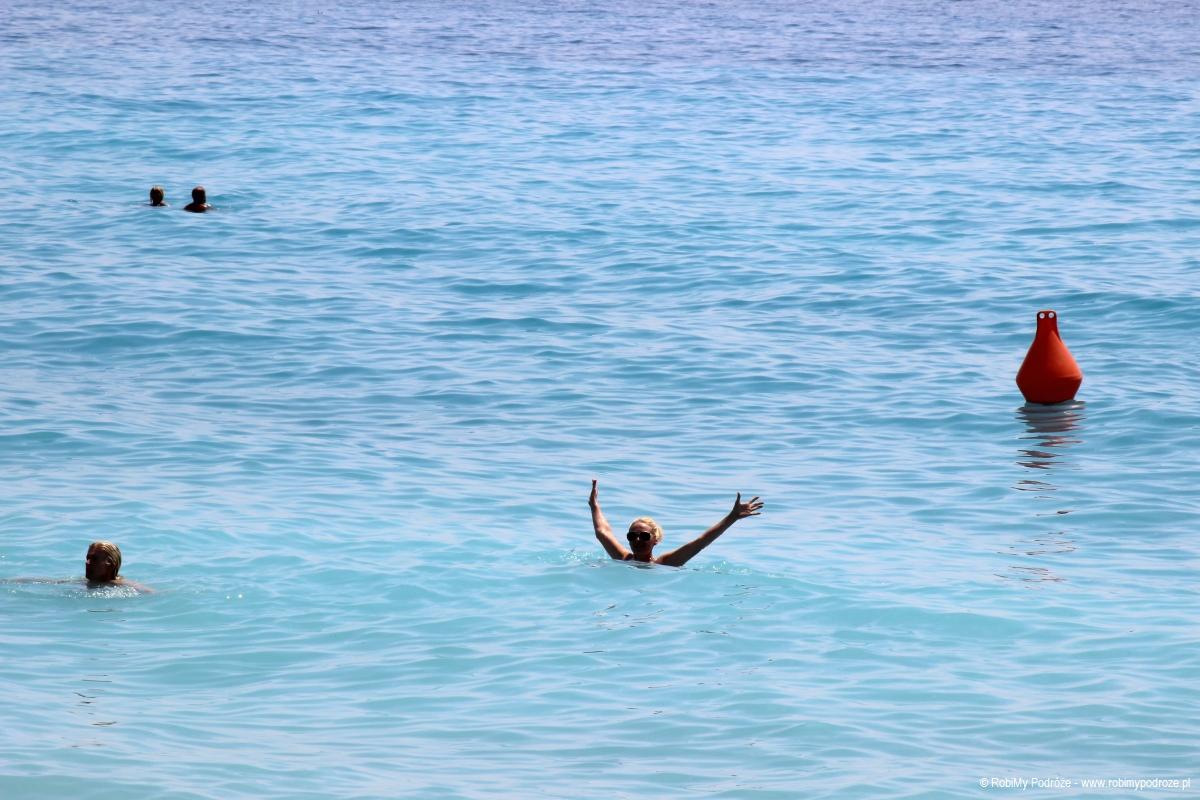 kąpiele w Nicei