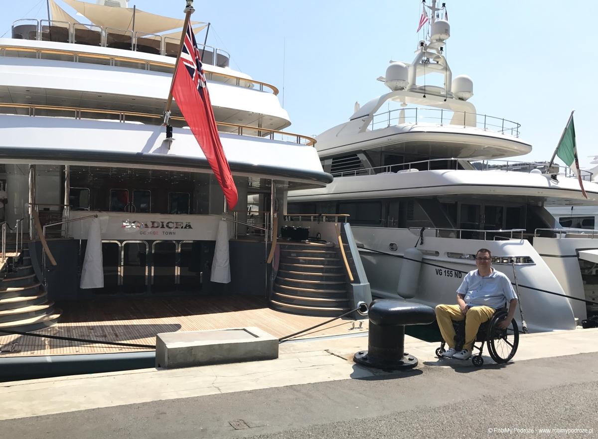 luksusowe łodzie w Monako