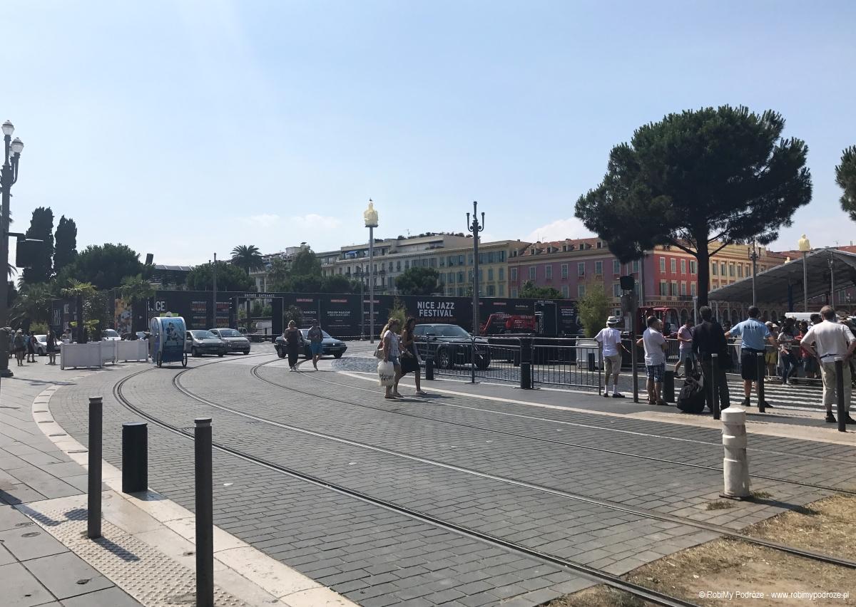 plac Massena w Nicei