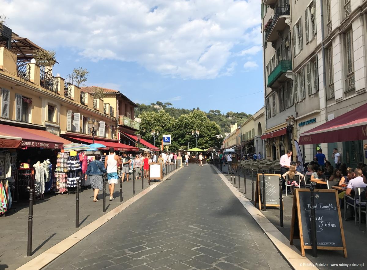starówka w Nicei