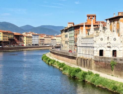 Ciekawe miejsca w Pizie, czyli nie tylko Krzywą Wieżą miasto stoi (Eurotrip #7)