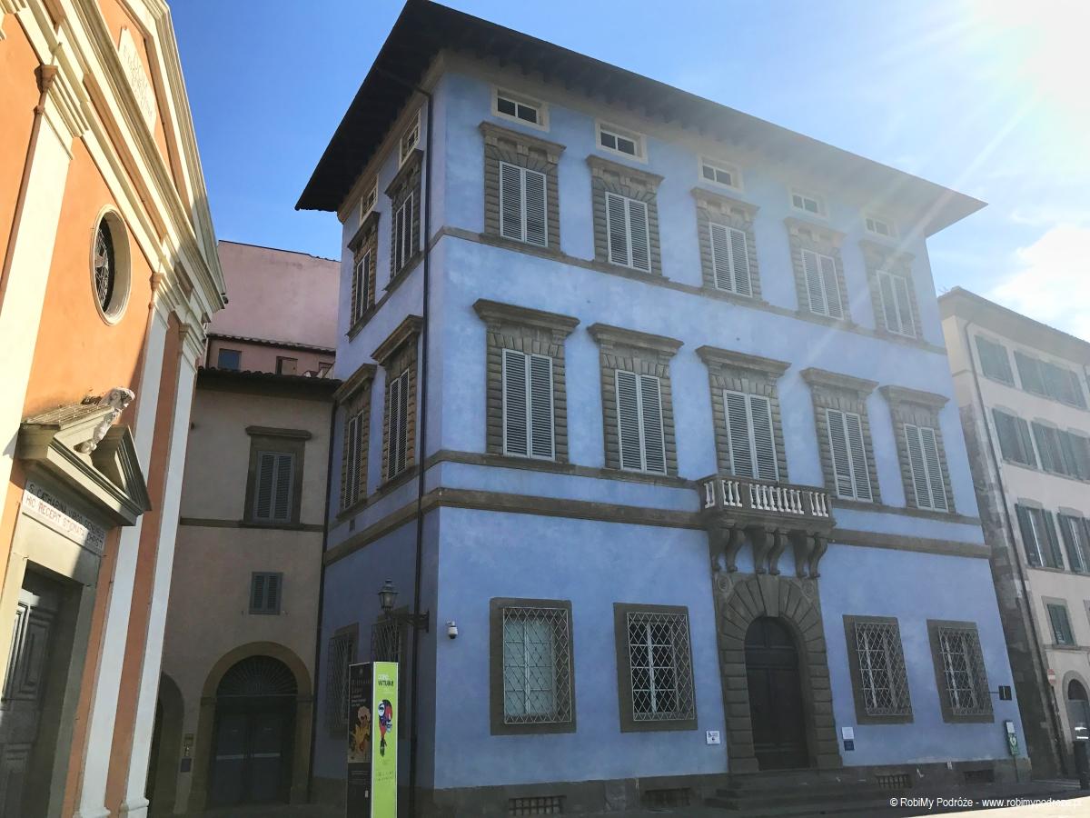 Ciekawe miejsca wPizie - Palazzo Blu wPizie