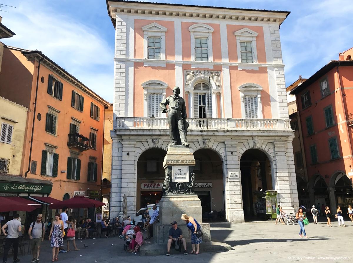 Pomnik Garibaldiego w Pizie