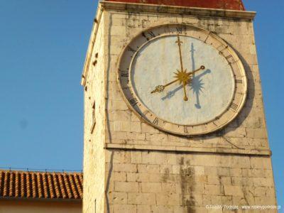 Wieża zegarowa wTrogirze