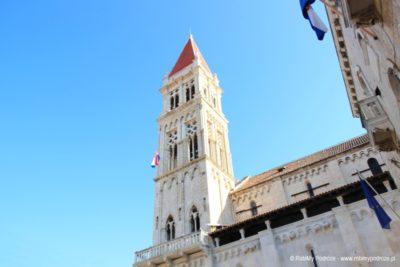Zwiedzanie Trogiru - dzwonnica