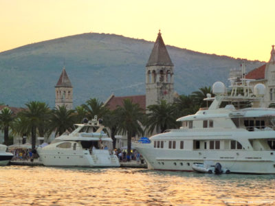 marina wTrogirze