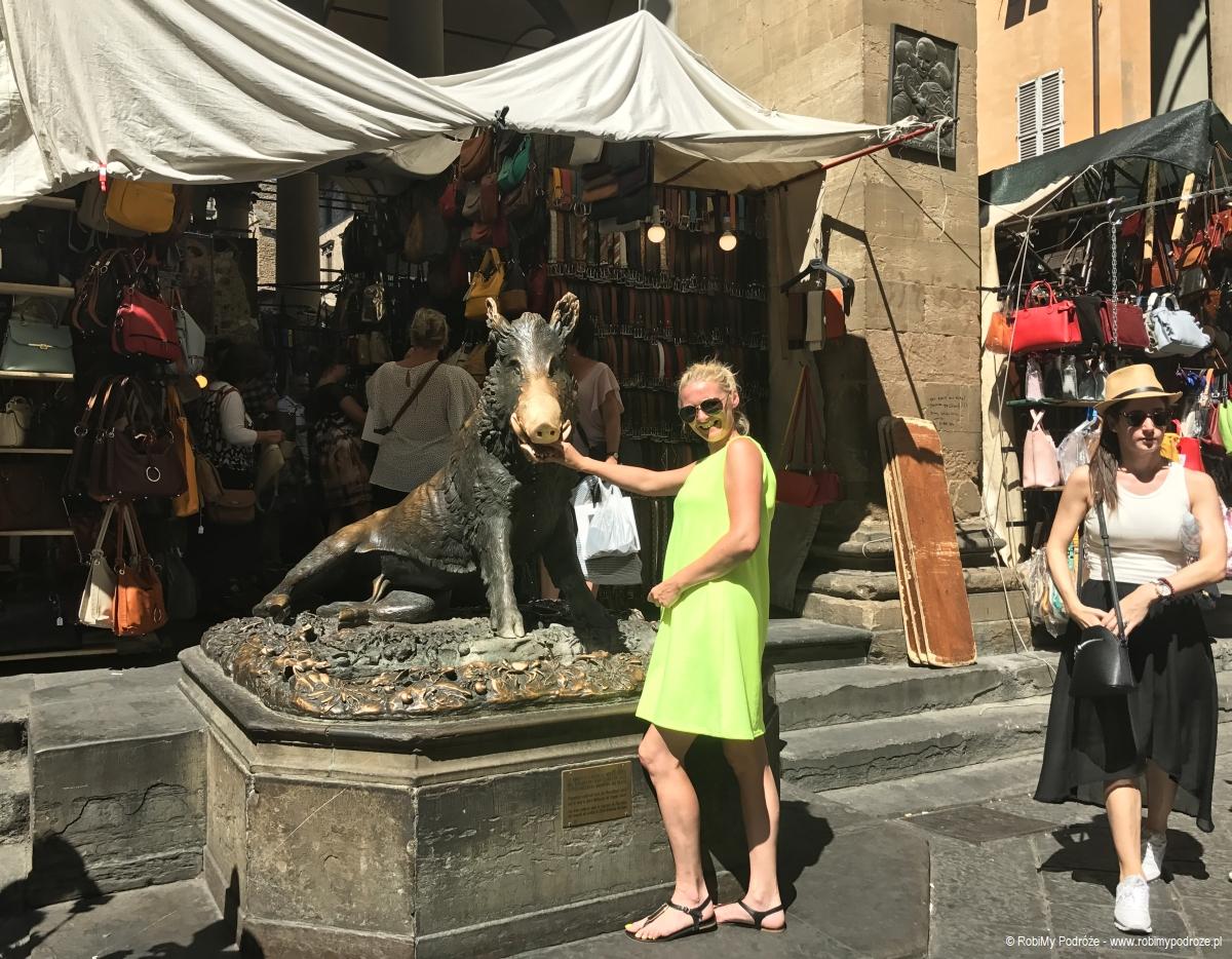 Dzik Porcellino we Florencji