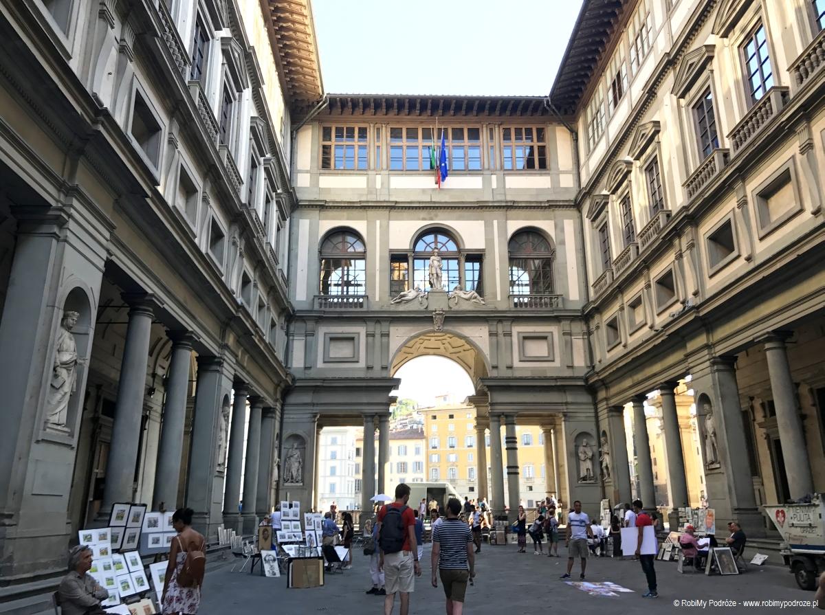 Galleria Uffizi Florencja