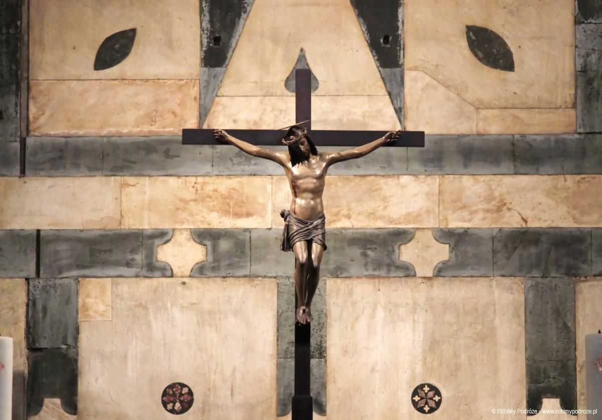 Jezus w baptysterium we Florencji